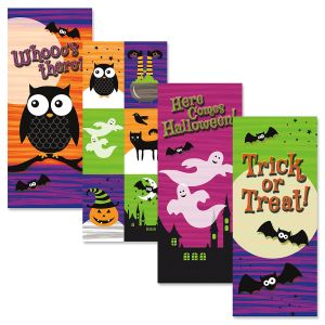 Owl Friends Halloween Cards
