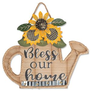 Bless Our Home Wooden Sign