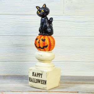 Black Cat on a Pedestal