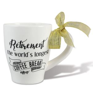 Retirement Coffee Break Mug