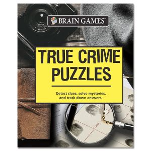 Brain Games™ True Crime Puzzles