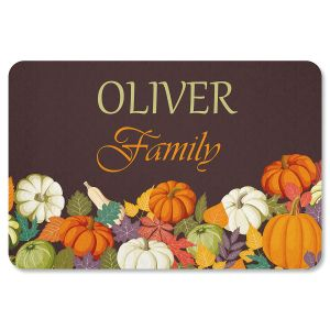 Autumn Personalized Thanksgiving Doormat