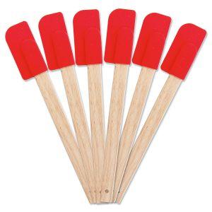 Red Silicone Spatulas