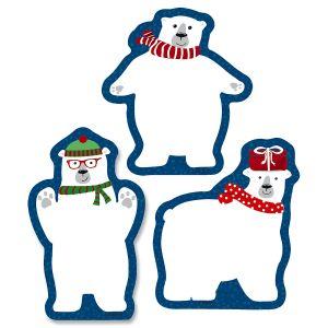 Diecut Polar Bear Pads - BOGO