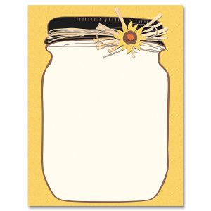 Halloween Jar Halloween Letter Papers