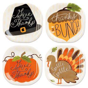Harvest Appetizer Plates