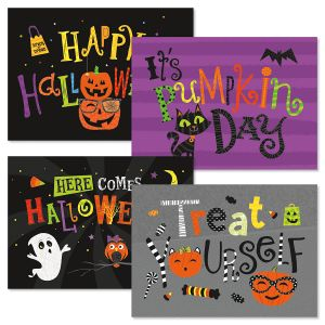 Big Messages Halloween Cards