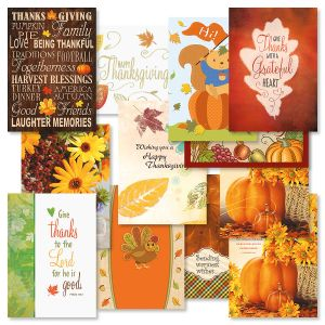 Thanksgiving Cards Value Pack