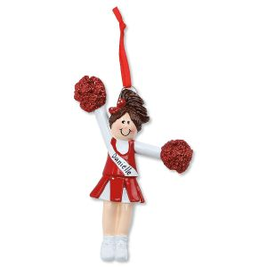 Cheer Personalized Christmas Ornament