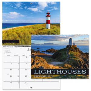 2020 Lighthouses Wall Calendar
