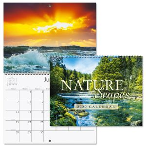 2020 Naturescapes Wall Calendar