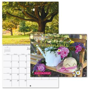 2020 Quiet Moments Wall Calendar