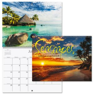 2020 Seascapes Wall Calendar