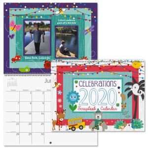 2020 Celebrations Scrapbooking Calendar