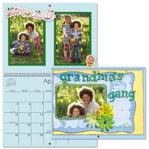 2020 Colored Pages Crafters' Calendar