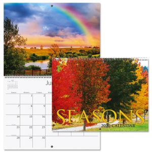 2020 Seasons Wall Calendar