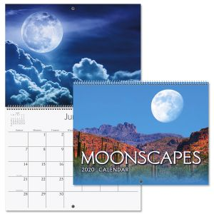 2020 Moonscapes Wall Calendar
