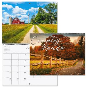 2020 Country Roads Wall Calendar