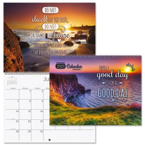 2020 Good Day Quotes Wall Calendar