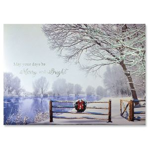 Silent Splendor Ultra-Deluxe Christmas Cards