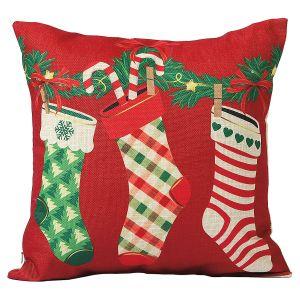 Stockings Christmas Pillow Covers