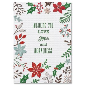 Stitching Sampler Christmas Cards
