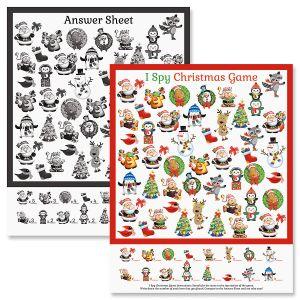 """Christmas """"I Spy"""" Game"""