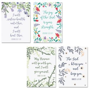 Get Well Scripture Cards and Seals