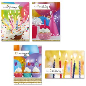 Birthday Celebration Cards and Seals