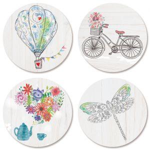 Faith Seals (4 Designs)