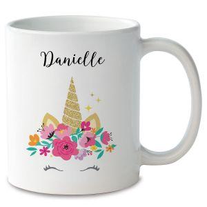 Personalized Unicorn Mug