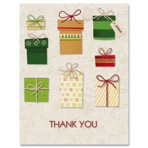 Gifts Thank You Note Cards