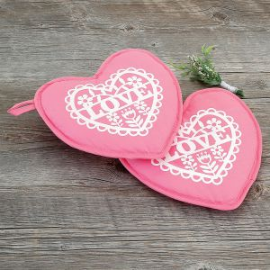 Heart Hot Pads