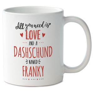 All You Need Is Love and...Valentine Personalized Mug