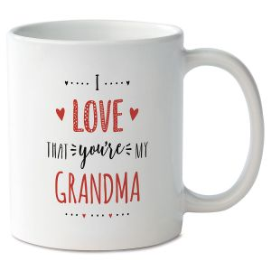 I Love That You're My…Valentine Personalized Mug