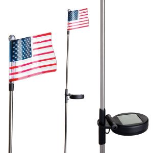 Solar Flag Lighted