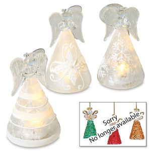 LED Angels Christmas Ornaments