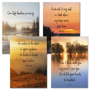 Colorscapes Faith Sympathy Cards