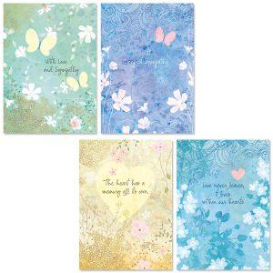 BOHO Sympathy Cards and Seals