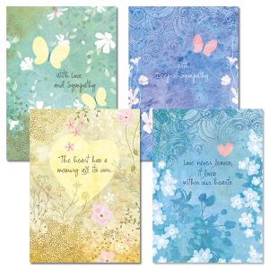 BOHO Sympathy Cards and Seals