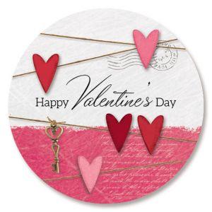 Collage Valentine Seals