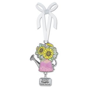 Beautiful Daughter Inspirational Enameled Ornament