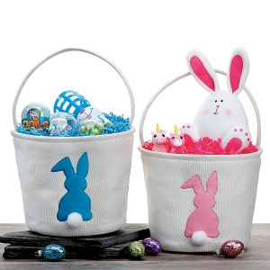 Fabric Bunny Baskets