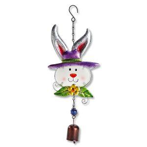 Metal & Glass Bunny Hanger
