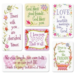 Love and Friendship Magnets