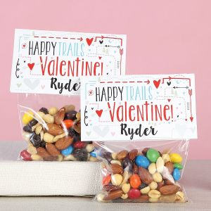 Personalized Happy Trails Valentines