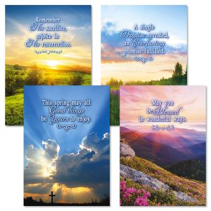 Landscape Easter Faith Cards