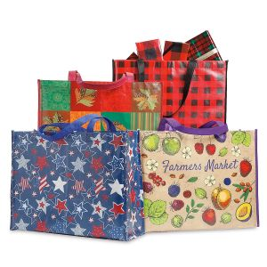 Seasonal Shopping Bag Value Pack