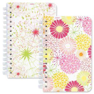 Summer Floral Spiral Notepads