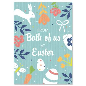 From Both of Us Religious Easter Card